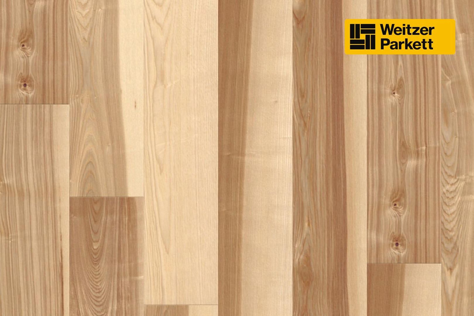 weitzer parkett charisma einblatt kernesche lebhaft bunt gefast geb rstet matt lackiert. Black Bedroom Furniture Sets. Home Design Ideas