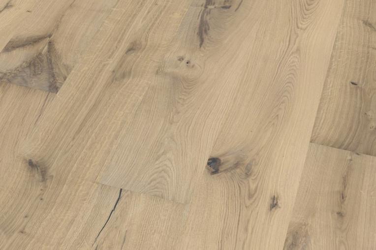 Holzfußboden Weiß ~ Pb landhausdiele eiche weiß wildlife gefast gebürstet