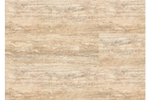 Korkboden Corkstone Travertine Creme