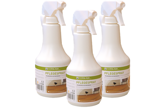 Weitzer Parkett Pflegespray | Pro Vital | transparent